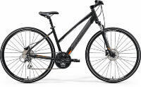 19 Merida Crossway 20-D Lady К:700C Р:L(51cm) MattBlack/Orange